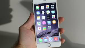 iPhone 6 with hand