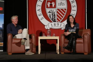 May 19th 2016 - Town Hall Meeting featuring Pete Carroll and Angela Duckworth